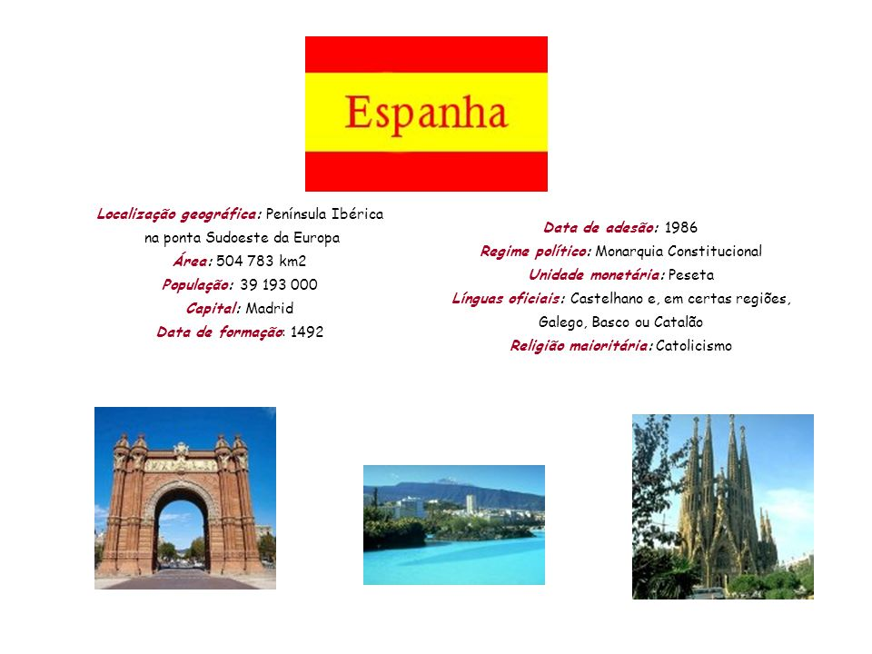 Localização geográfica: Península Ibérica na ponta Sudoeste da Europa