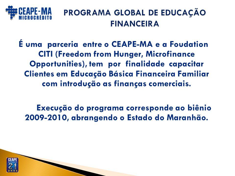 PROGRAMA GLOBAL DE EDUCAÇÃO FINANCEIRA
