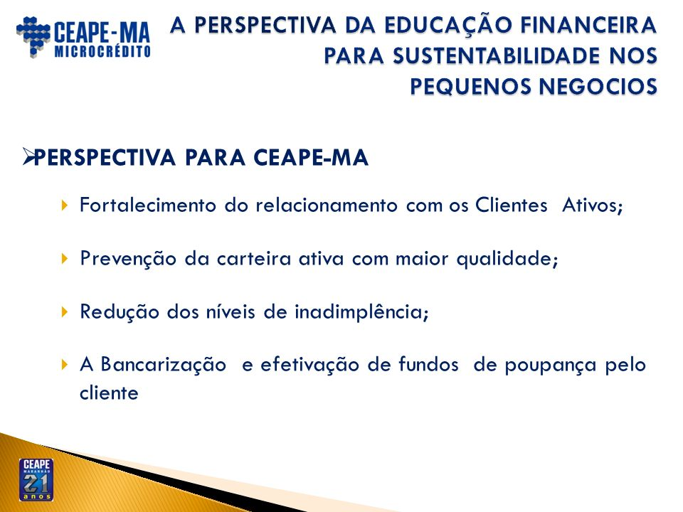PERSPECTIVA PARA CEAPE-MA