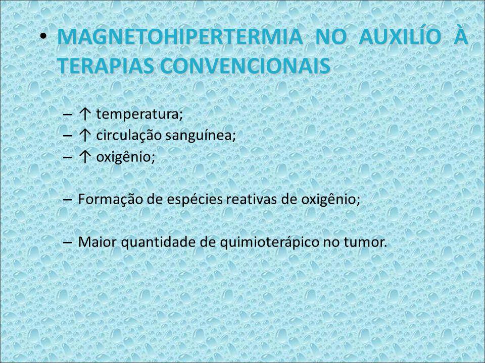 MAGNETOHIPERTERMIA NO AUXILÍO À TERAPIAS CONVENCIONAIS