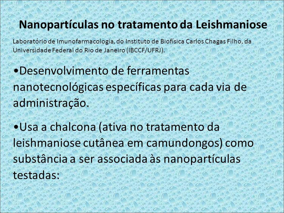 Nanopartículas no tratamento da Leishmaniose