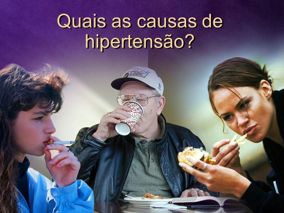 Quais as causas de hipertensão
