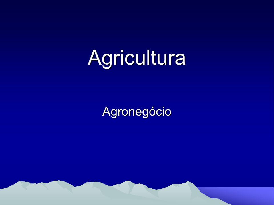 Agricultura Agronegócio