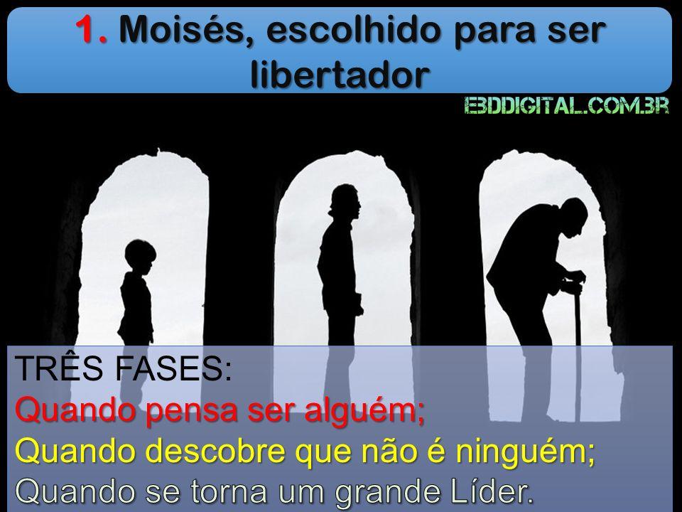 1. Moisés, escolhido para ser libertador