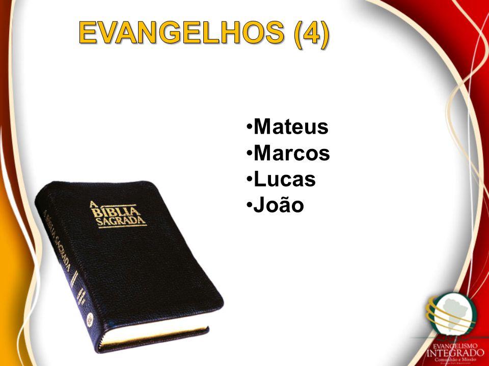 EVANGELHOS (4) Mateus Marcos Lucas João