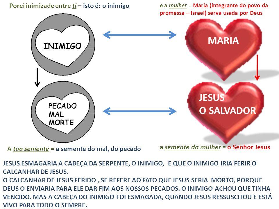 MARIA JESUS O SALVADOR INIMIGO