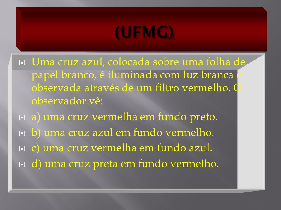(UFMG)