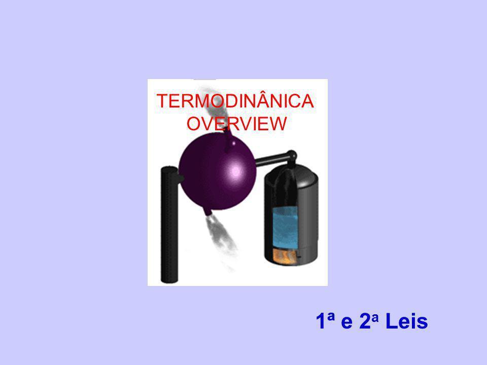 TERMODINÂNICA OVERVIEW 1ª e 2a Leis