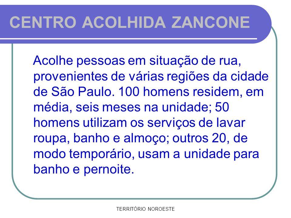 CENTRO ACOLHIDA ZANCONE