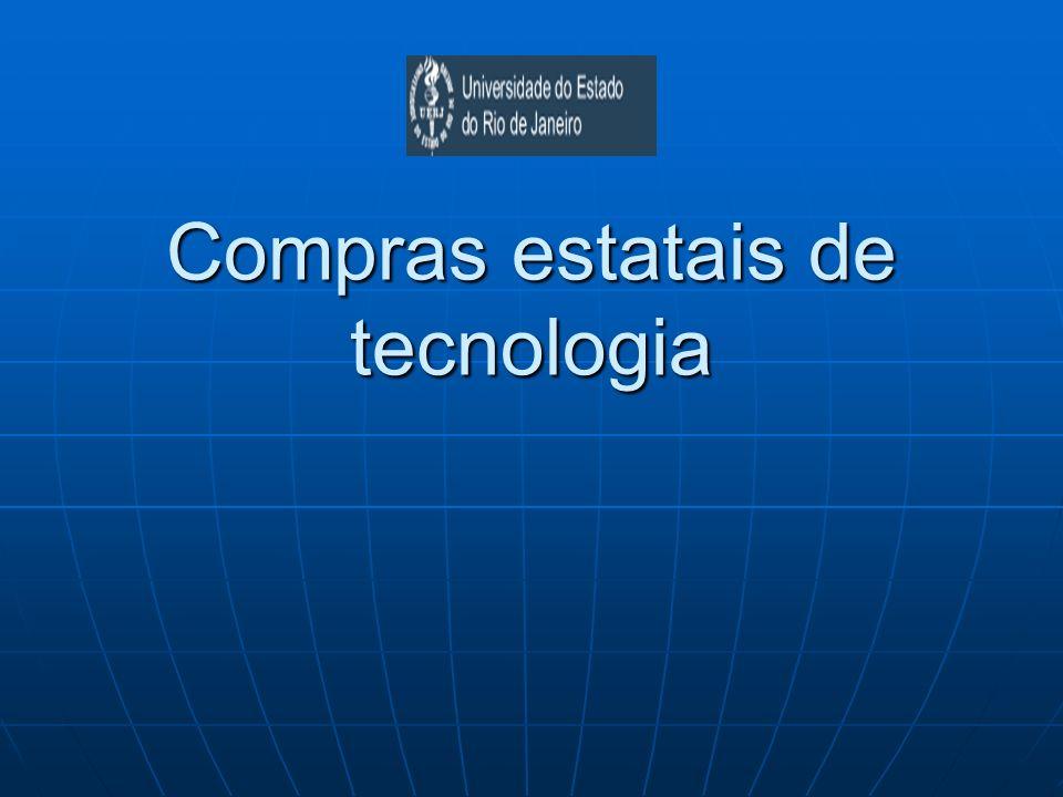 Compras estatais de tecnologia