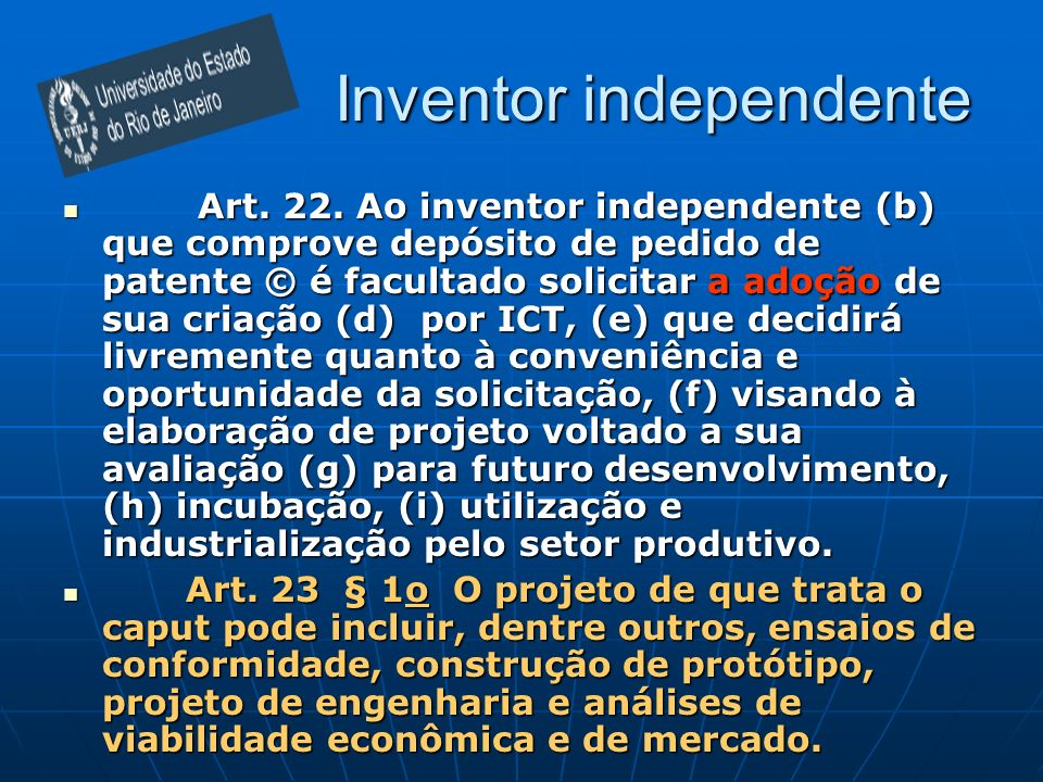 Inventor independente