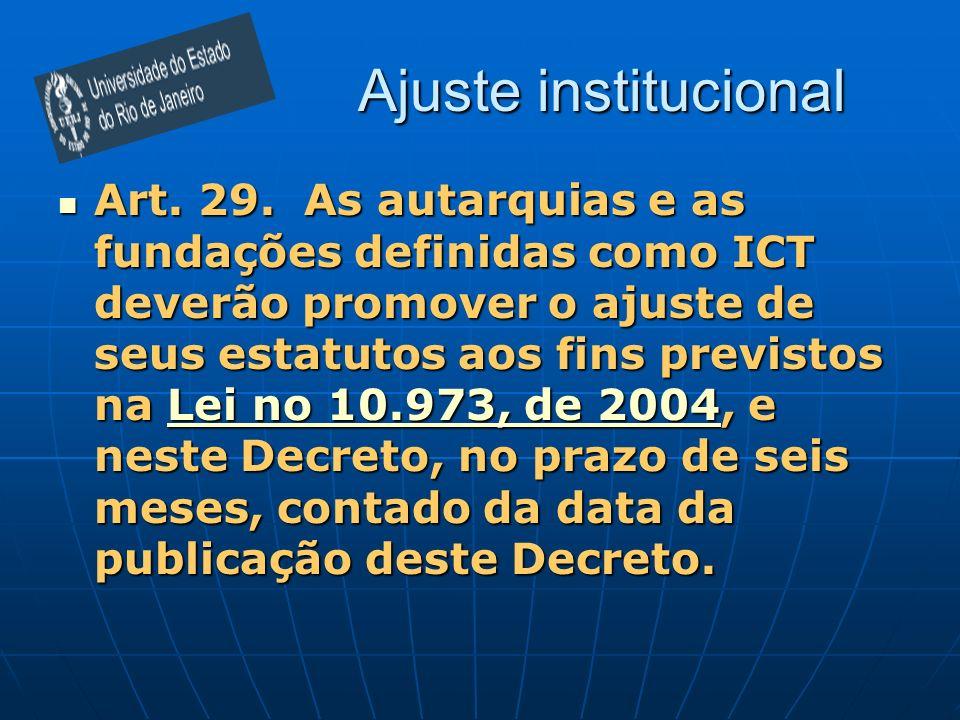 Ajuste institucional