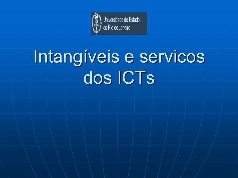 Intangíveis e servicos dos ICTs
