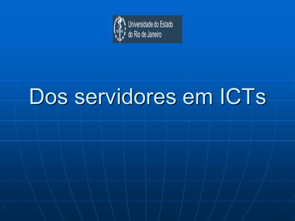 Dos servidores em ICTs