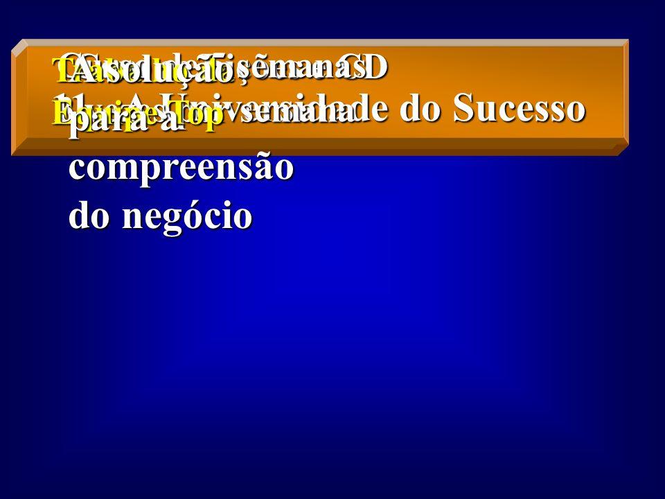 11.- A Universidade do Sucesso A solução para a compreensão do negócio
