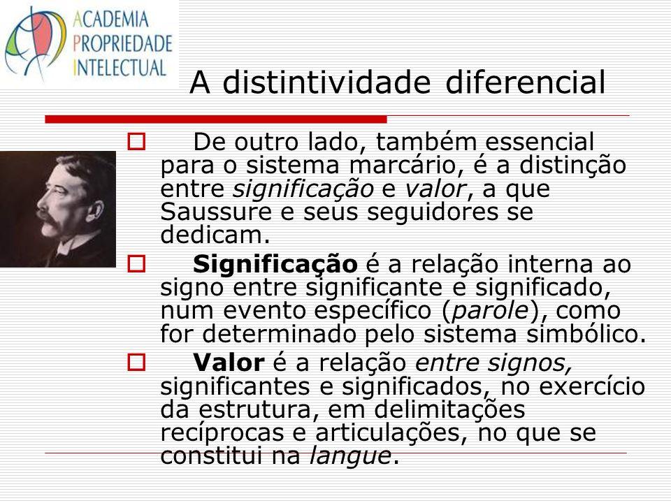 A distintividade diferencial