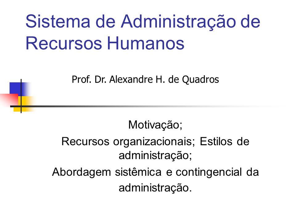 Sistema de Administração de Recursos Humanos
