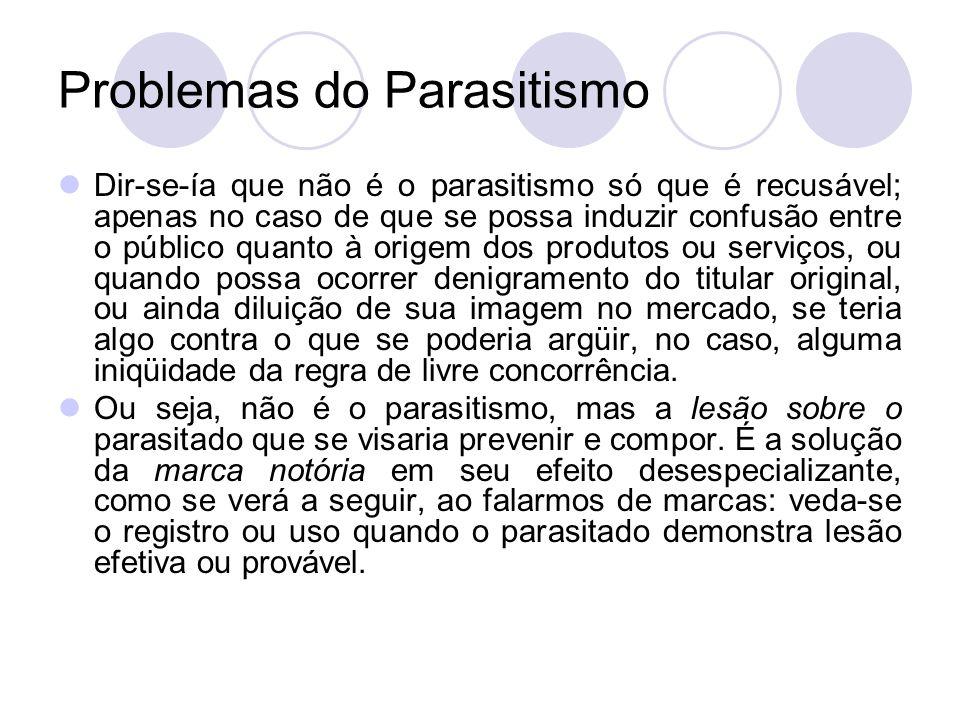 Problemas do Parasitismo