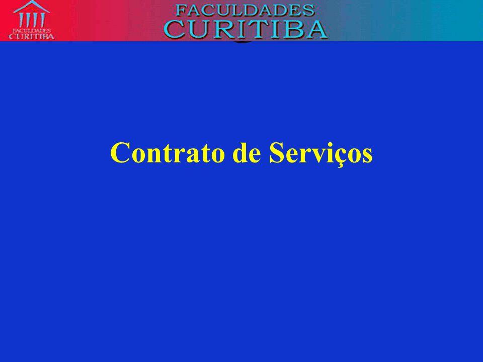 Contrato de Serviços