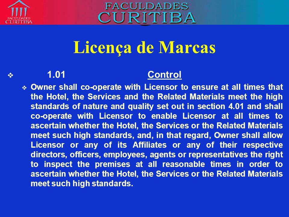 Licença de Marcas 1.01 Control
