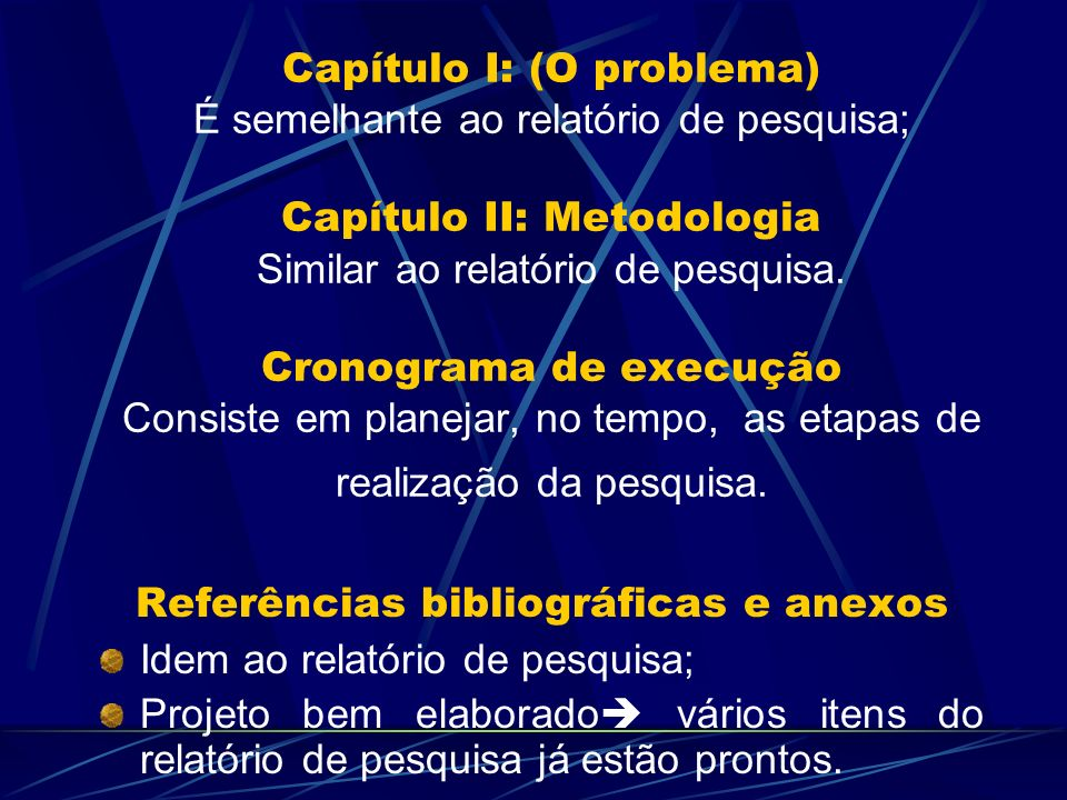 Referências bibliográficas e anexos