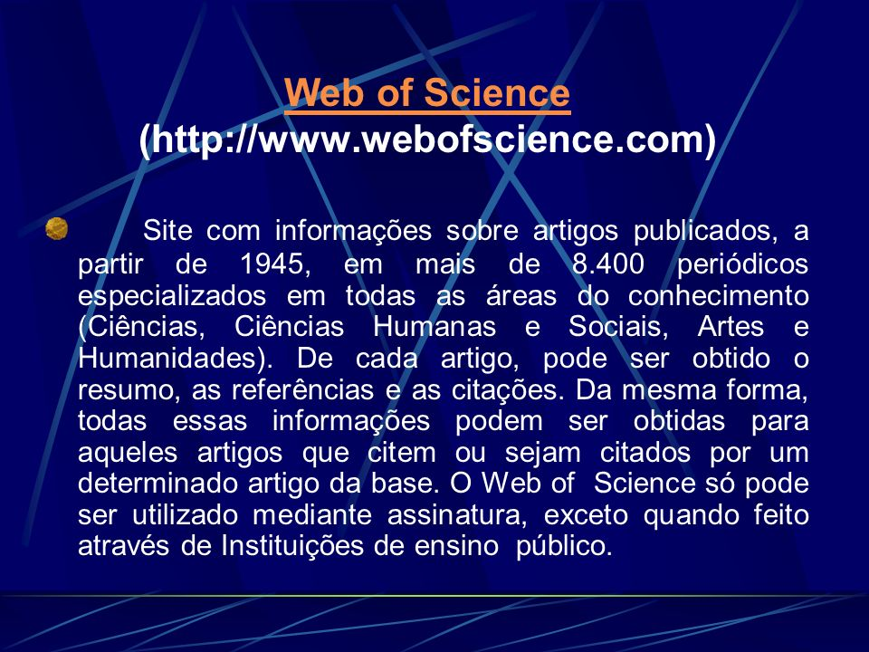 Web of Science (