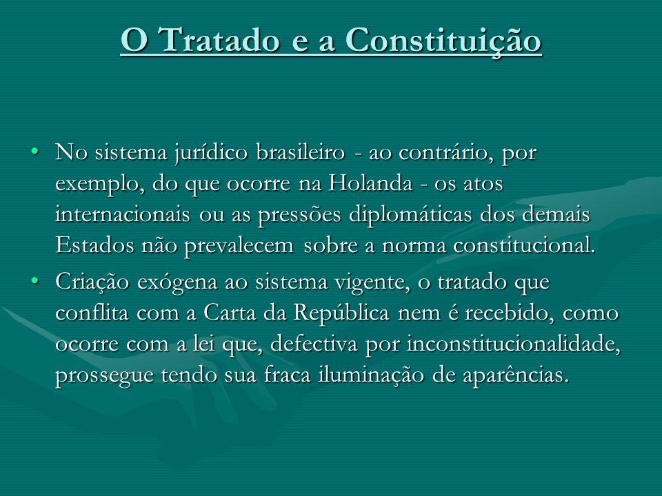 O Tratado e a Constituição