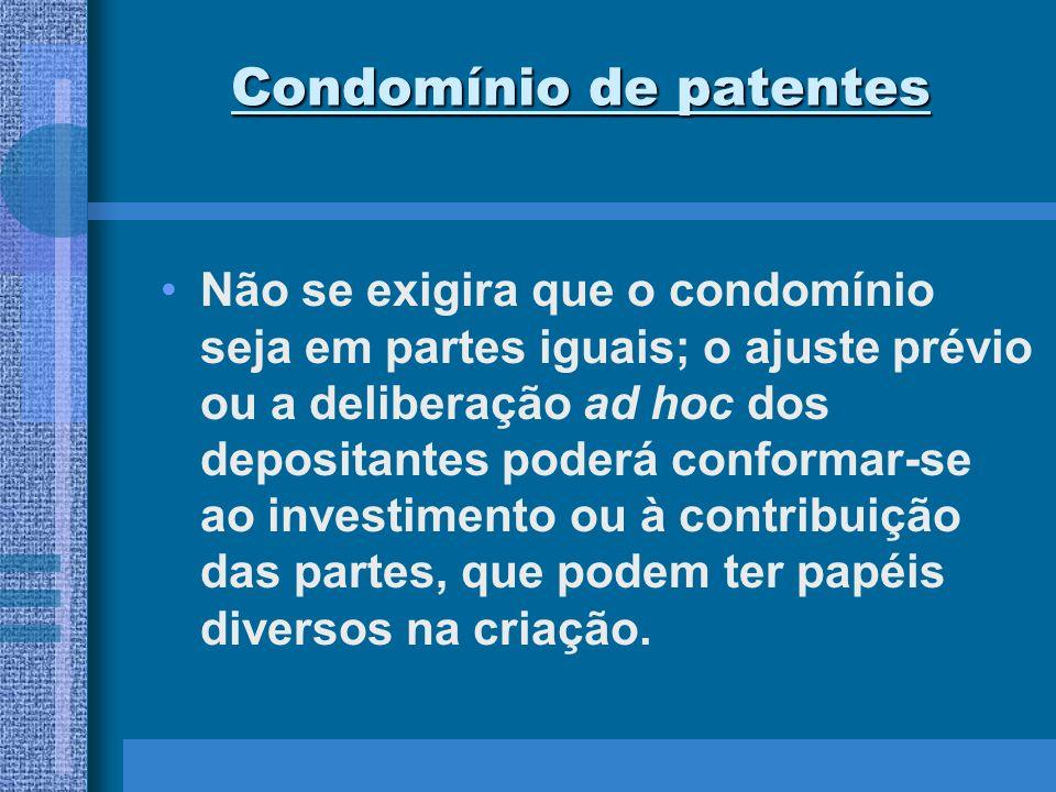 Condomínio de patentes