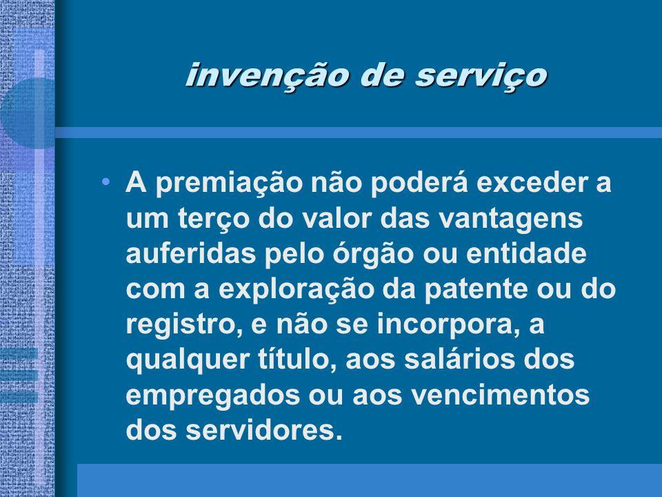 invenção de serviço