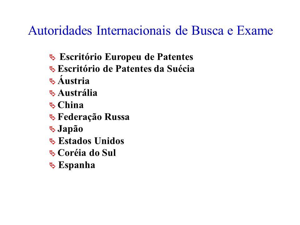 Autoridades Internacionais de Busca e Exame