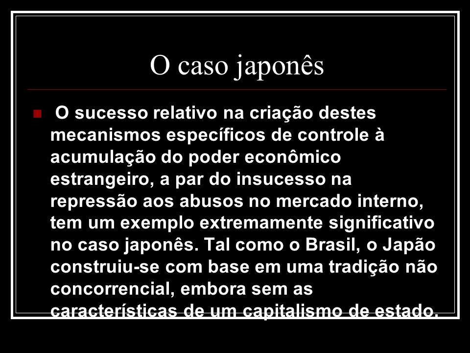 O caso japonês