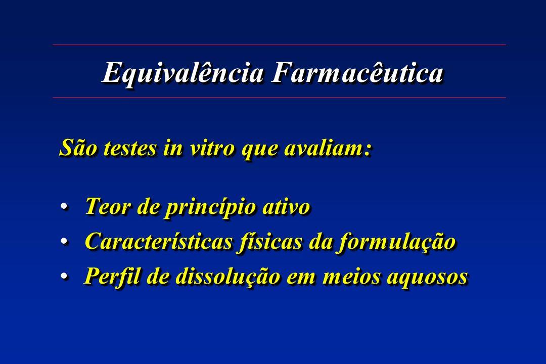 Equivalência Farmacêutica