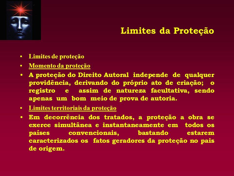 Limites da Proteção Limites de proteção Momento da proteção