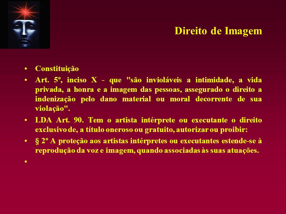 Direito de Imagem Constituição