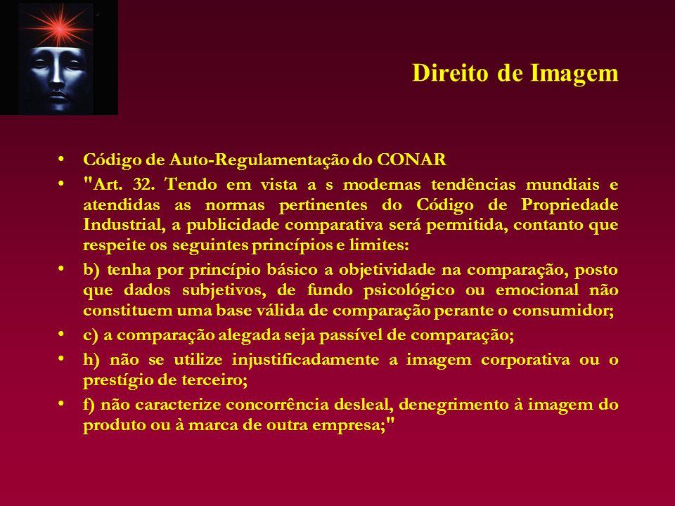 Direito de Imagem Código de Auto-Regulamentação do CONAR