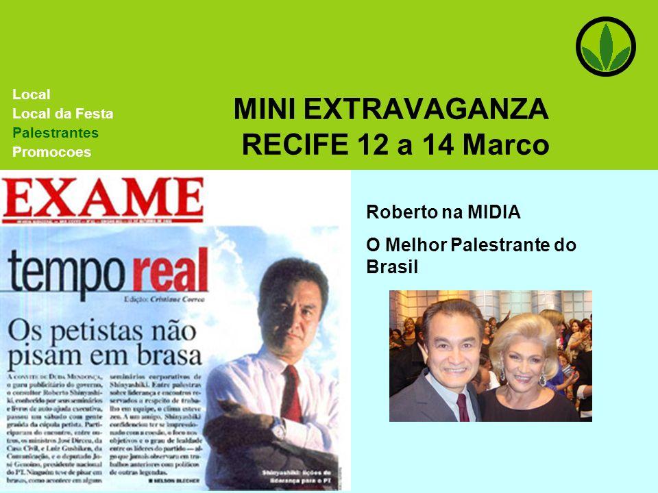 MINI EXTRAVAGANZA RECIFE 12 a 14 Marco