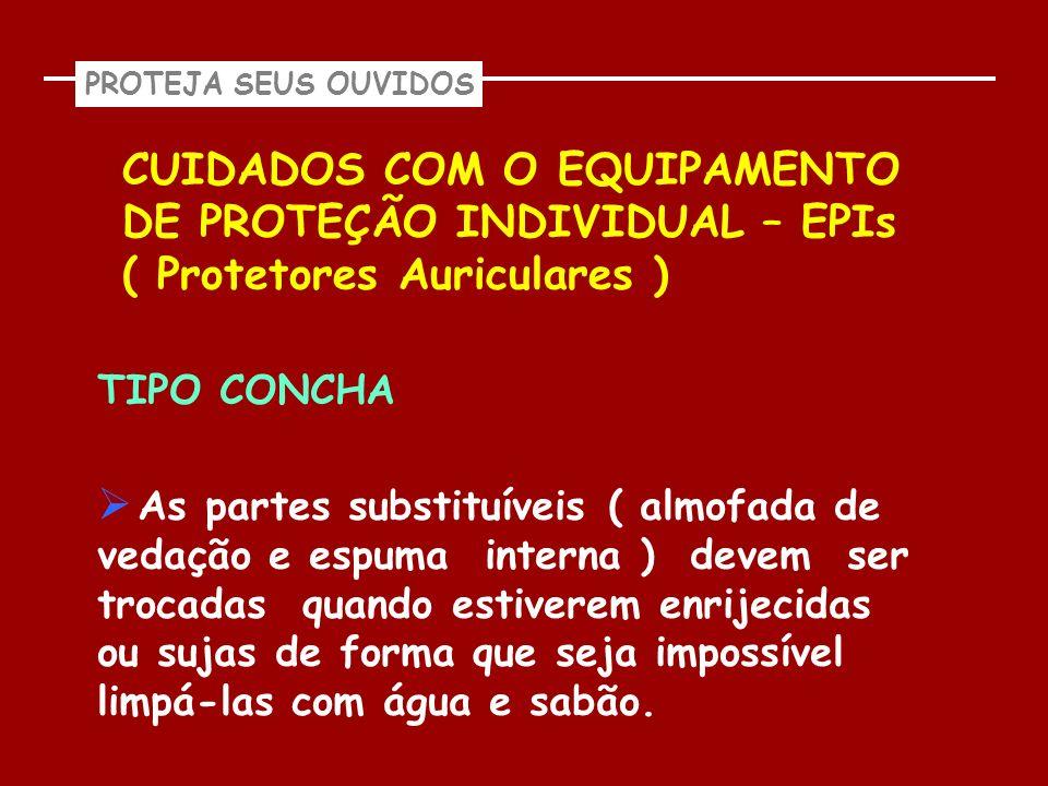 PROTEJA SEUS OUVIDOS CUIDADOS COM O EQUIPAMENTO DE PROTEÇÃO INDIVIDUAL – EPIs ( Protetores Auriculares )