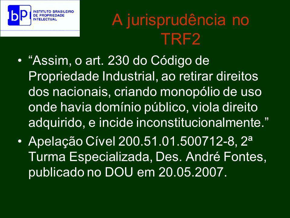 A jurisprudência no TRF2