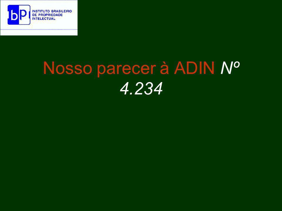 Nosso parecer à ADIN Nº 4.234