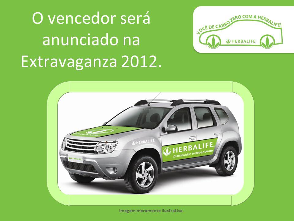 O vencedor será anunciado na Extravaganza 2012.