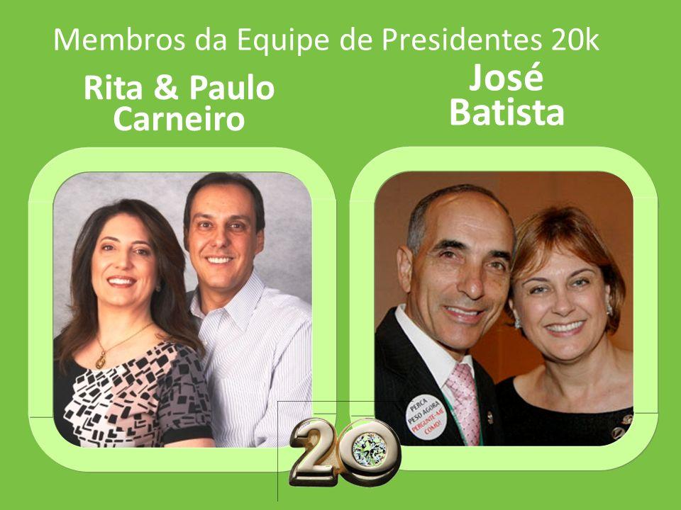 Membros da Equipe de Presidentes 20k