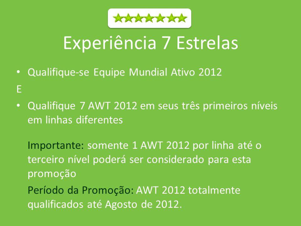 Experiência 7 Estrelas Qualifique-se Equipe Mundial Ativo 2012 E