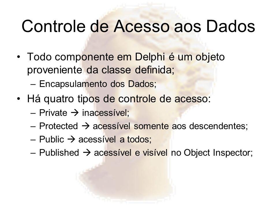 Controle de Acesso aos Dados