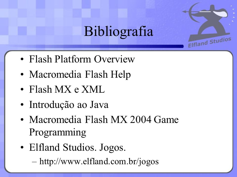 Bibliografia Flash Platform Overview Macromedia Flash Help