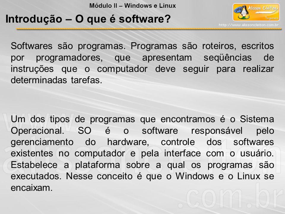 Introdução – O que é software