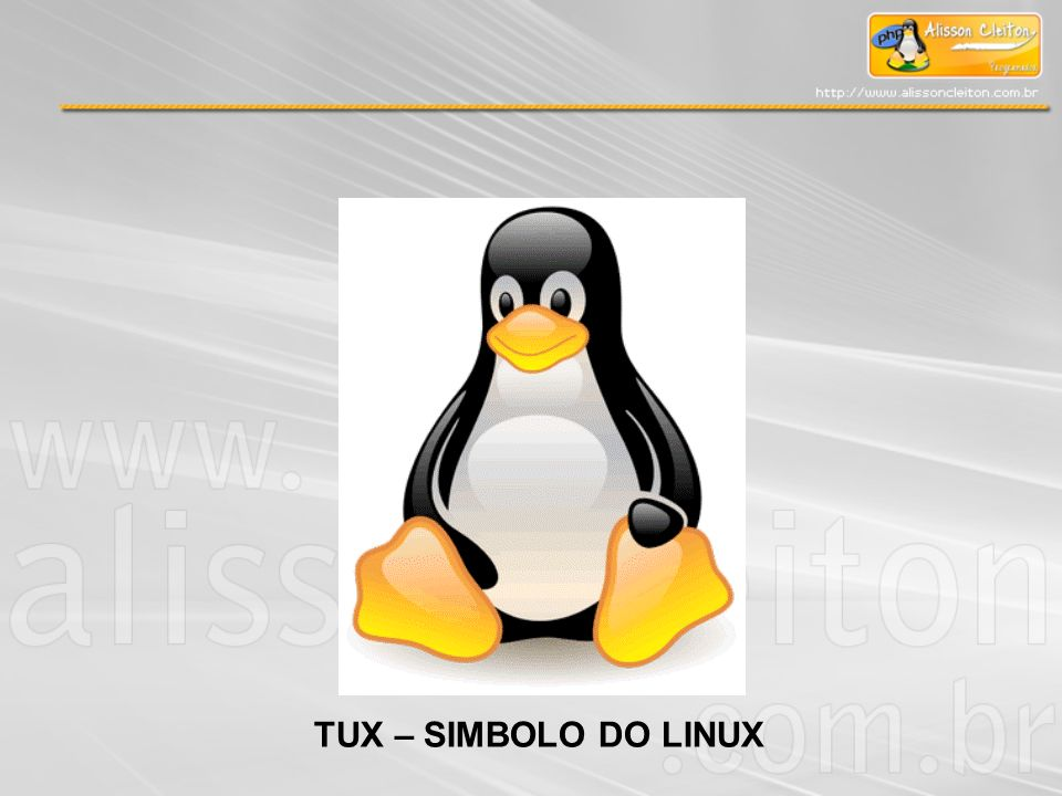 TUX – SIMBOLO DO LINUX