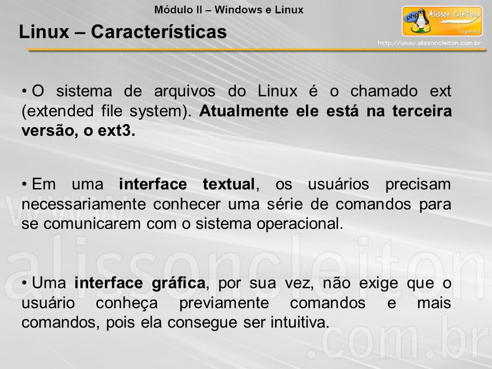 Linux – Características