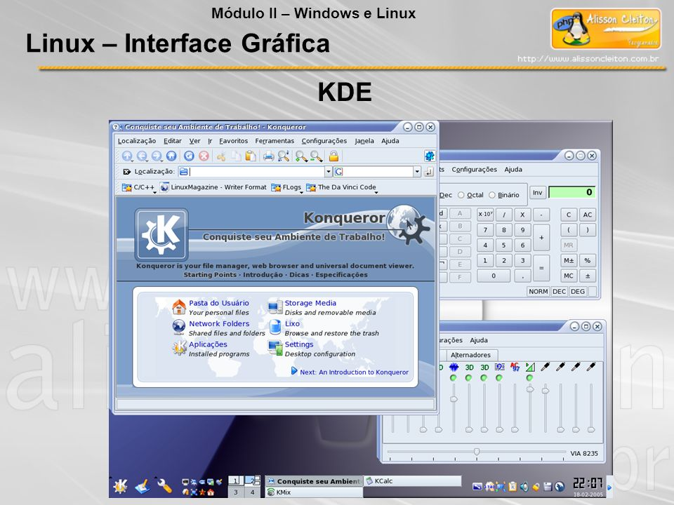 Linux – Interface Gráfica