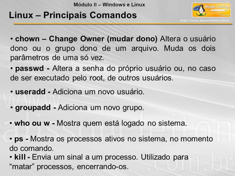 Linux – Principais Comandos
