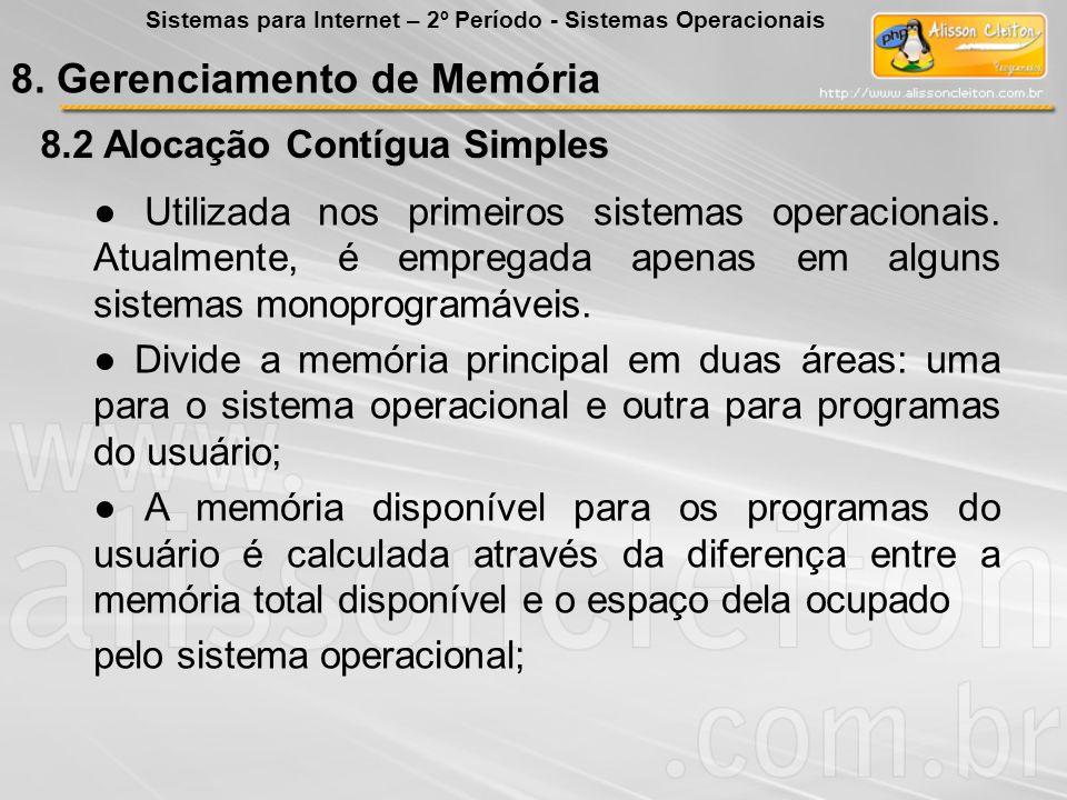 8. Gerenciamento de Memória